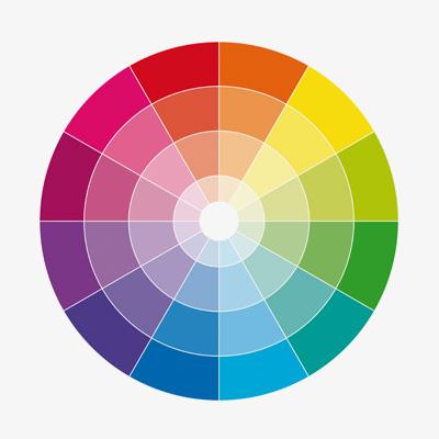 Brand Cut Through Colour Wheel