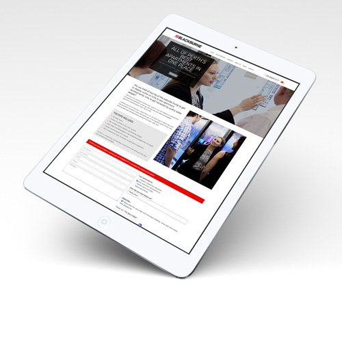 Landing Page Web Design Perth