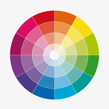 Colour theory - Understanding the colour wheel.