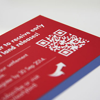 QR codes provide a trackable short cut to a specific website address.
