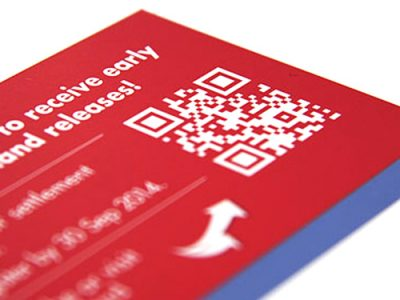 QR Codes used in advertising and marketing