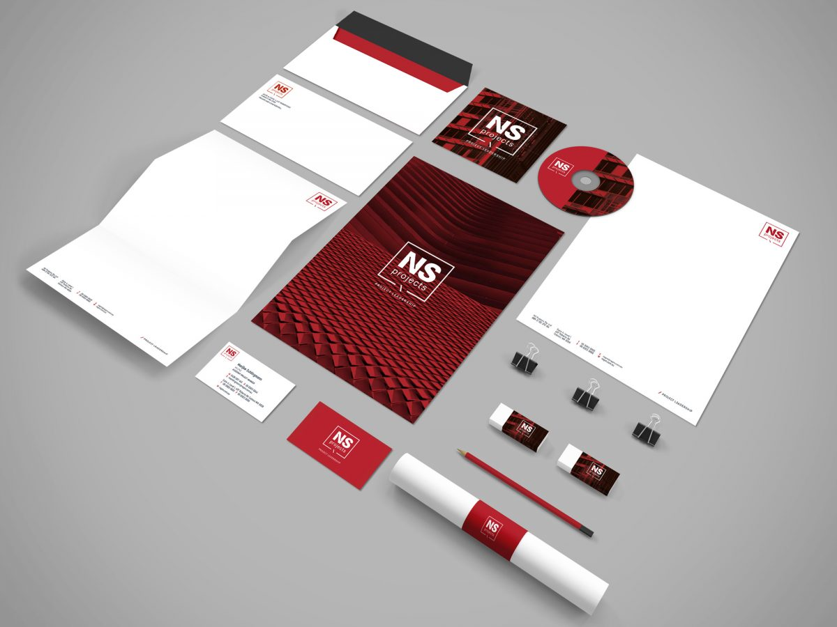 Brand Design - Stationery Application