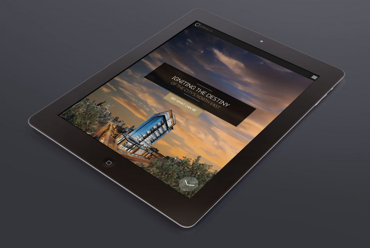 Website Design - Perth Oracle Apartments