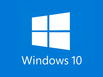 Flat logo Design for Windows 10