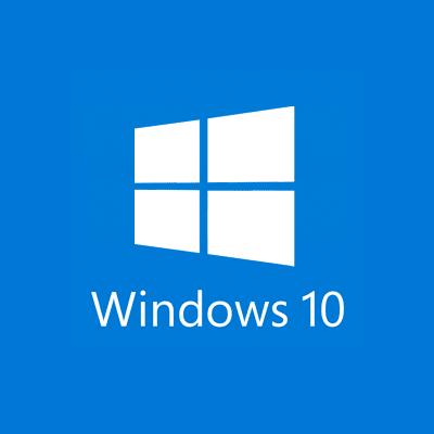 Flat logo Design for Windows 10